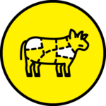 whole muscle jerky icon